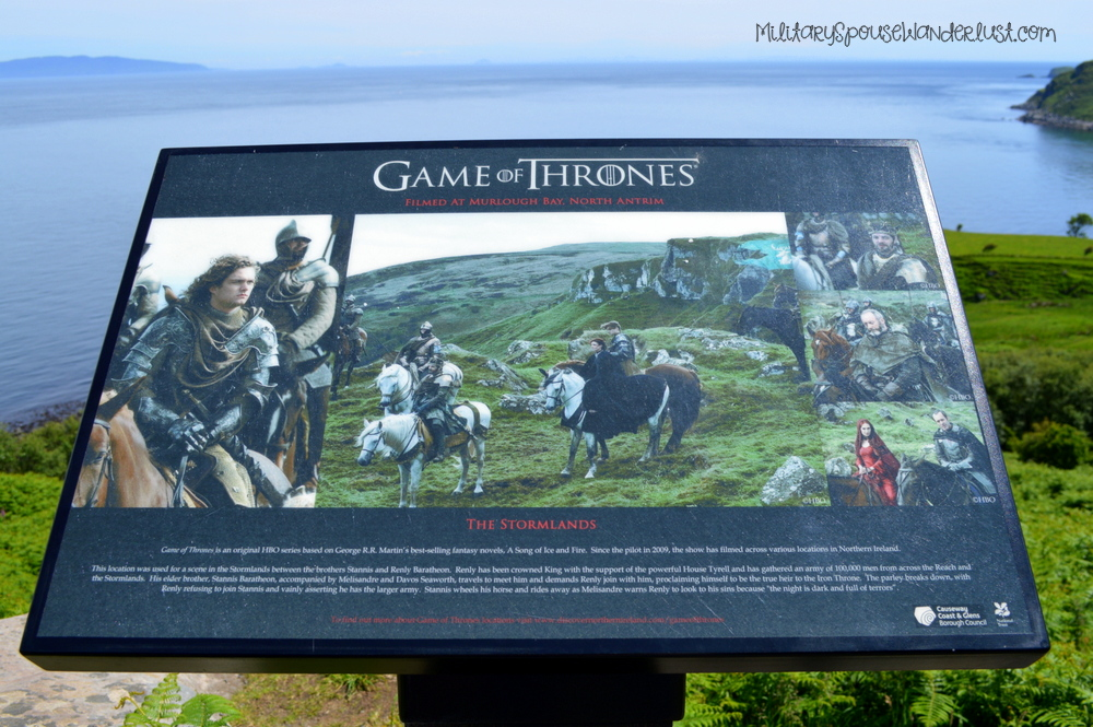 Murlough Bay – Game of Thrones: Renly and Stannis in the