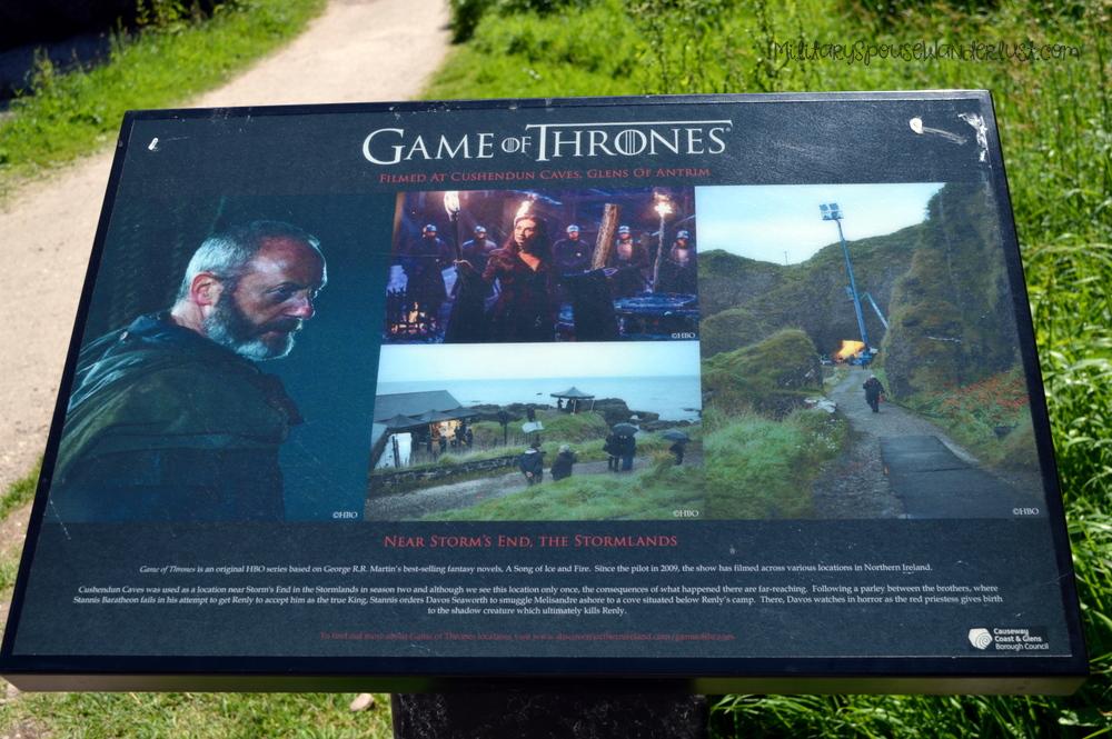 Cushendun Caves – Game of Thrones: Melisandre Gives Birth to